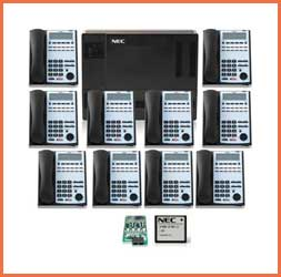 NEC 1100 10 Phones and Voice Mail Pricing